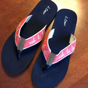 Ooh La La J. Crew sandals 8